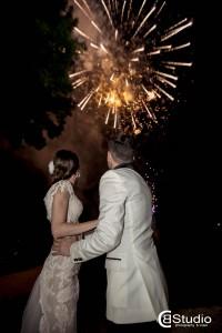 Artificii Exterior Nunta